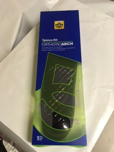 43-042  Spenco® Orthotic Arch Supports Full Length  New in box