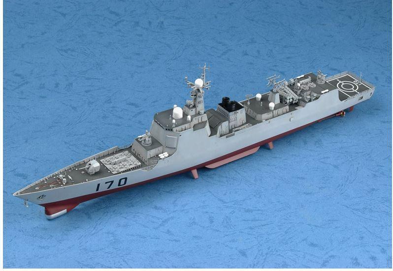PLA NAVY TYPE 052C DDG-170 LANZHOU 1 350 ship Trumpeter model kit04530