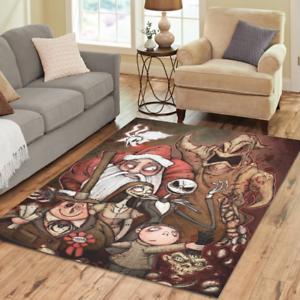 Special Offer Carpet Decor Floor Mat Custom Nightmare Before Christmas Area Rug