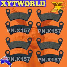 Rear Sintered Brake Pads Fits POLARIS 800 RANGER CREW 4X4 EFI 2012 SF8