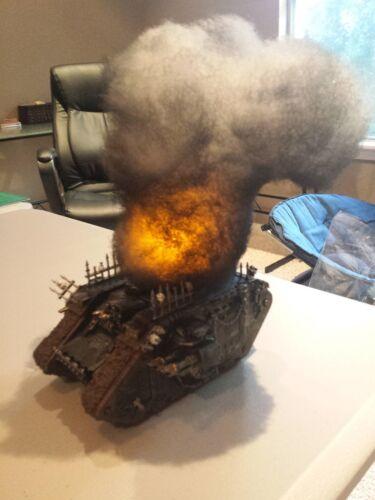 Warhammer 40k, AoS, Flames of War, smoke, terrain, blast markers, scenery