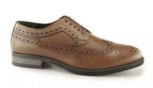 418b987dd466d Image is loading Silver-Street-London-Downing-Mens-Leather-Longwing-Derby-