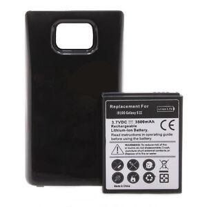 Samsung-Galaxy-S2-i9100-Power-Akku-Batterie-3500mAh-Bumper-Cover-schwarz
