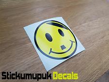 Happy Hitler Smiley Face Car Sticker ,VW Dub Sticker For Car Windows/Panel JDM