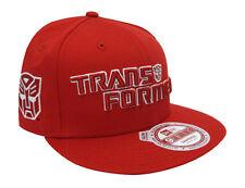 Transformer Autobots New Era Monounder Snapback Cap Hat Red