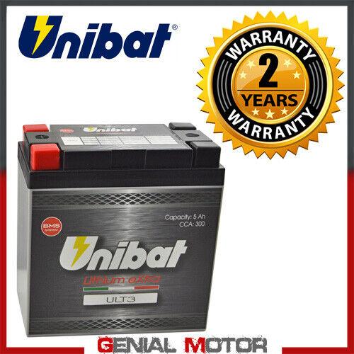 Batteria a Litio Unibat ULT3 300A per Harley-Davidson 1200 Nightster 2011