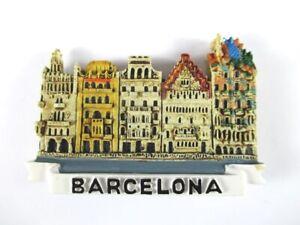 Aimant Barcelone Moulés, Souvenir Espagne Spain, Neuf **-enir Spanien Spain,neu **fr-fr Afficher Le Titre D'origine Attrayant Et Durable