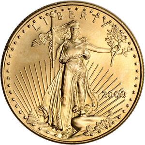 2000 American Gold Eagle 1/2 oz $25 - BU