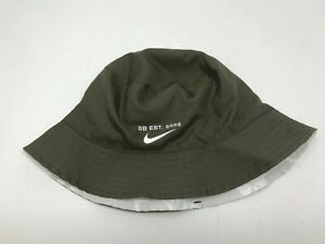 25d00c8f0 Nike SB Reversible Bucket Hat Olive Green Grey White Camo BV2668 222 ...