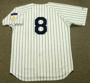 new style 2ff6c 31c7c Details about YOGI BERRA New York Yankees 1951 Majestic Cooperstown Home  Baseball Jersey
