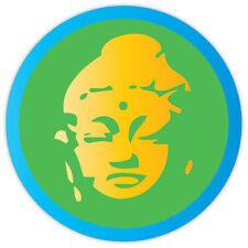 Buddha Budda etichetta sticker 11cm x 11cm