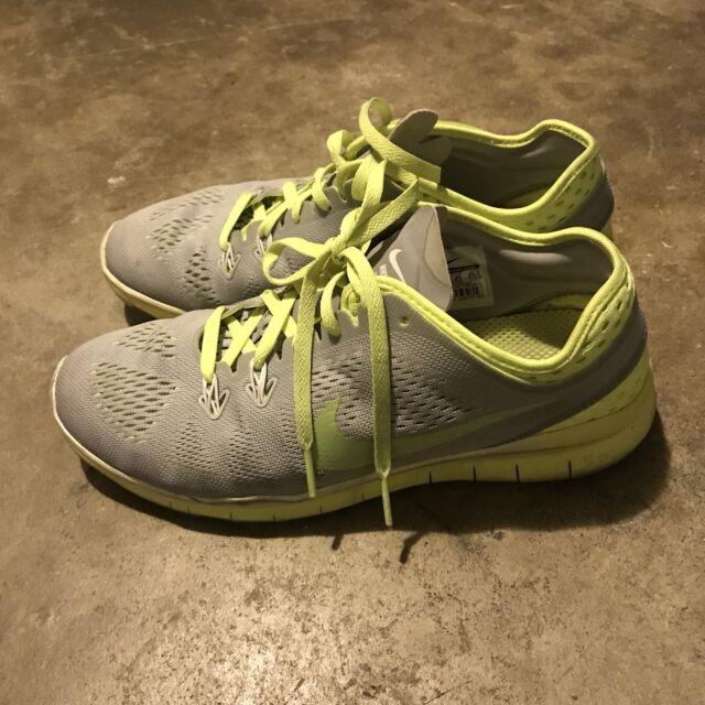 Nike Free 5.0 TR Fit 5 Breathe Womens WhiteWolf GreyGreen