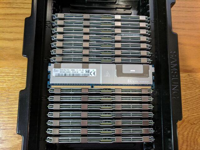 Samsung 64GB 8Rx4 PC3-12800L DDR3-1600Mhz LRDIMM ECC Registered Server Memory