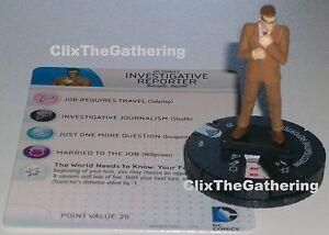 DC Heroclix Superman Wonder Woman 006 Investigative Reporter Common