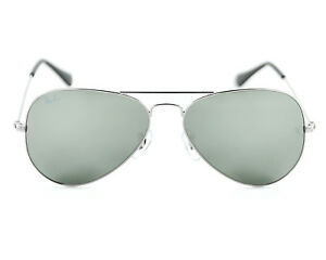 967b6011bb Image is loading NEW-AUTHENTIC-RayBan-Sunglasses-55mm-Ray-Ban-AVIATOR-