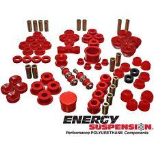 Energy Suspension Bushing Kit Polyurethane Red Fits Acura® Integra Kit