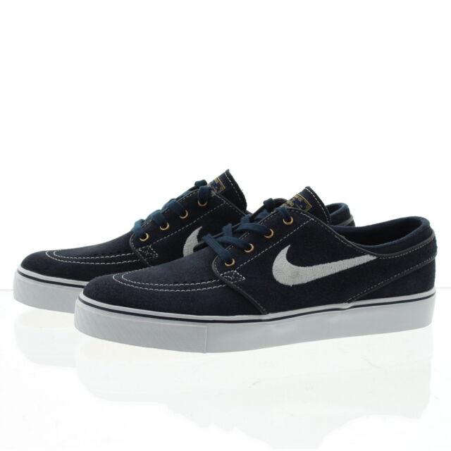 a640466e8f6bd Nike SB Zoom Stefan Janoski 333824-419 Obsidian Suede Skate Shoes ...