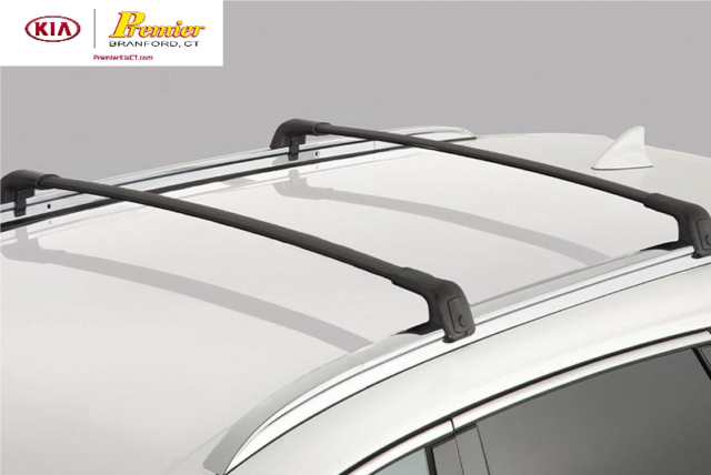 Oem 2016 2020 Kia Sorento Roof Rack Cross Bars Luggage Rails Cargo Racks Pair For Sale Online Ebay