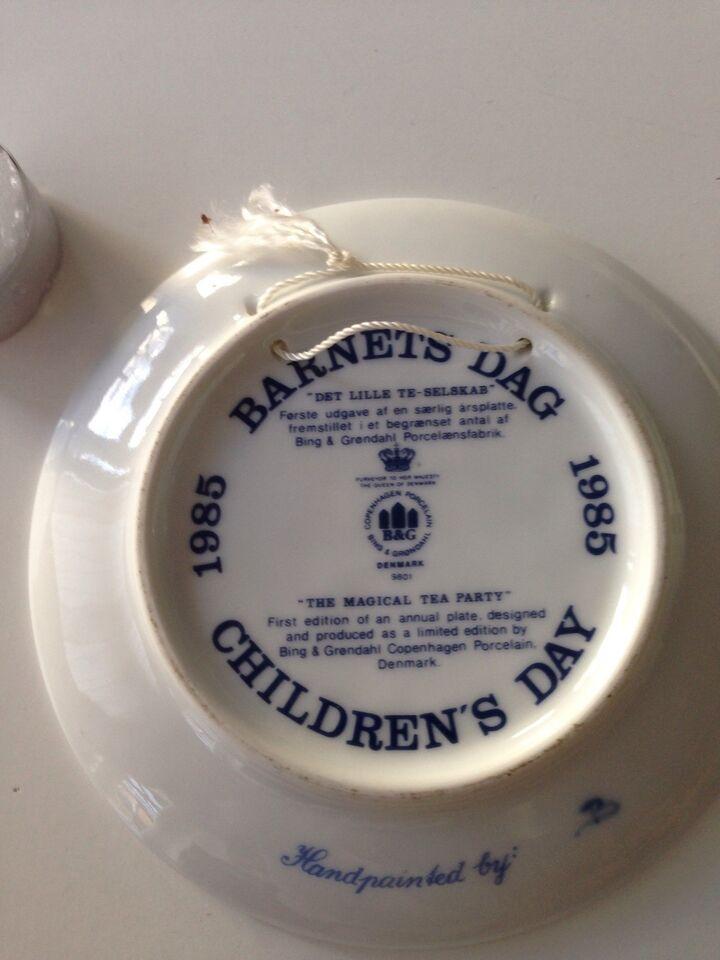 Barnets Dag platte, Bing & Grøndahl, 1985