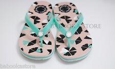 Marc By Marc Jacobs  Womens  Jelly Flip Flops Sandals Shoes Mint Pink Size 6