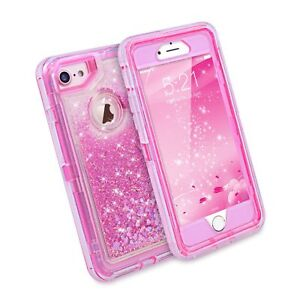 Iphone 7 Case Iphone 6s Case Dexnor Glitter 3d Bling Sparkle Flowing Liquid 650270270858 Ebay