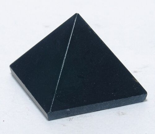 New Tourmaline Stone Pyramid Energy Generator Feng Shui Reiki Healing Spiritual