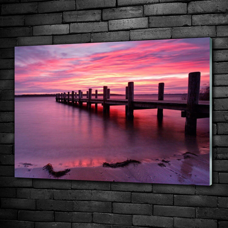 Acrylglasbilder Wandbild aus Plexiglas® Bild Steg