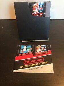 Super-Mario-Bros-Duck-Hunt-Nintendo-Entertainment-System-1985-With-Manuel