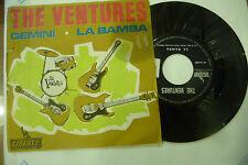 "THE VENTURES""GEMINI/LA BAMBA-disco 45 giri LIBERTY It 1964"""