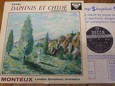 SXL 2164 Ravel Daphnis et Chloe / Monteux W/B