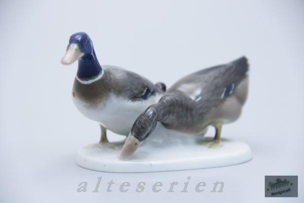Entenpaar H 7 cm (modèle 153) personnages Rosenthal Animaux