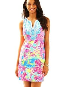 ca0c4b9d18df Image is loading NWT-LILLY-PULITZER-FALLON-SHIFT-MULTI-PALM-BEACH-