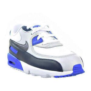 b18ac22bceaff Nike Air Max 90 Cuir Nourrisson   Chaussures Bébé Obsidienne Gris ...