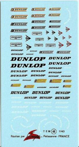Decalbogen Dunlop 1:43 049
