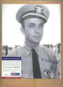 Details about PSA/DNA Robert K Campbell Battle Of Midway Pilot Autographed  8x10 Picture