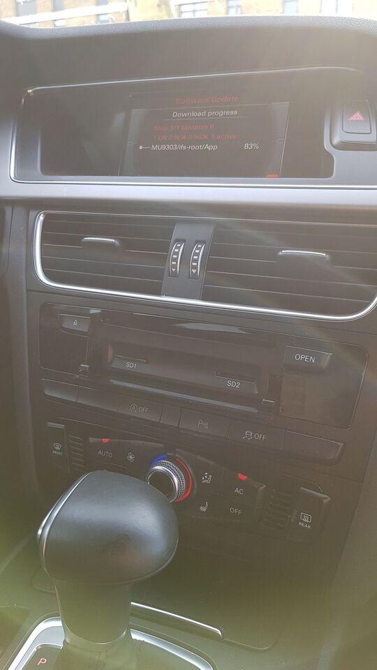 Software/kort, Audi MMI 3G Basic 2018 Europakort