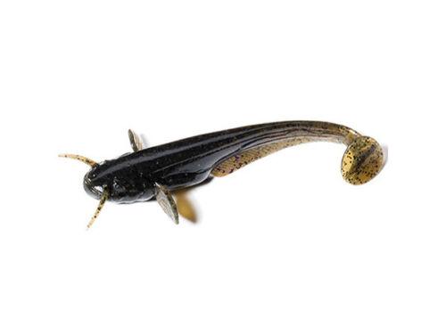 FishUp Catfish 50mm 10pcs Leurre souple Perche Brochet Sandre COULEURS