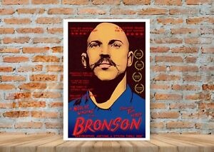 Bronson Tom Hardy Classic Movie Poster or Canvas Art Print A3 A4 Sizes