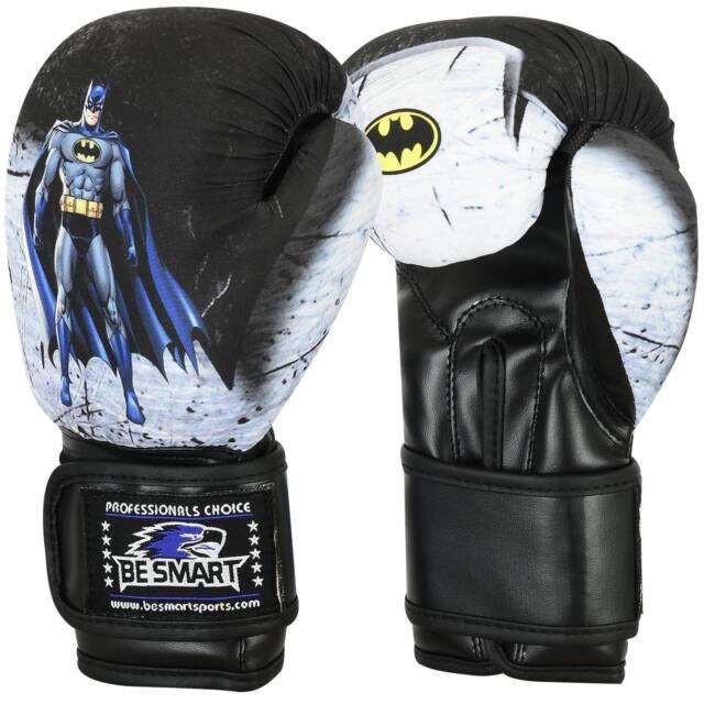 8Oz EVO Kids Boxing Gloves MMA GEL Punch Bag Muay Thai Martialart Training 4oz