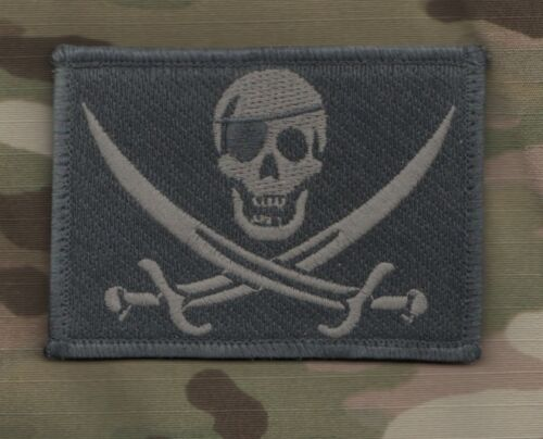 AFSOC COMBAT CONTROL TACP CCT MULTICAM burdock-hook SS PIRATE CALICO JACK SKULL