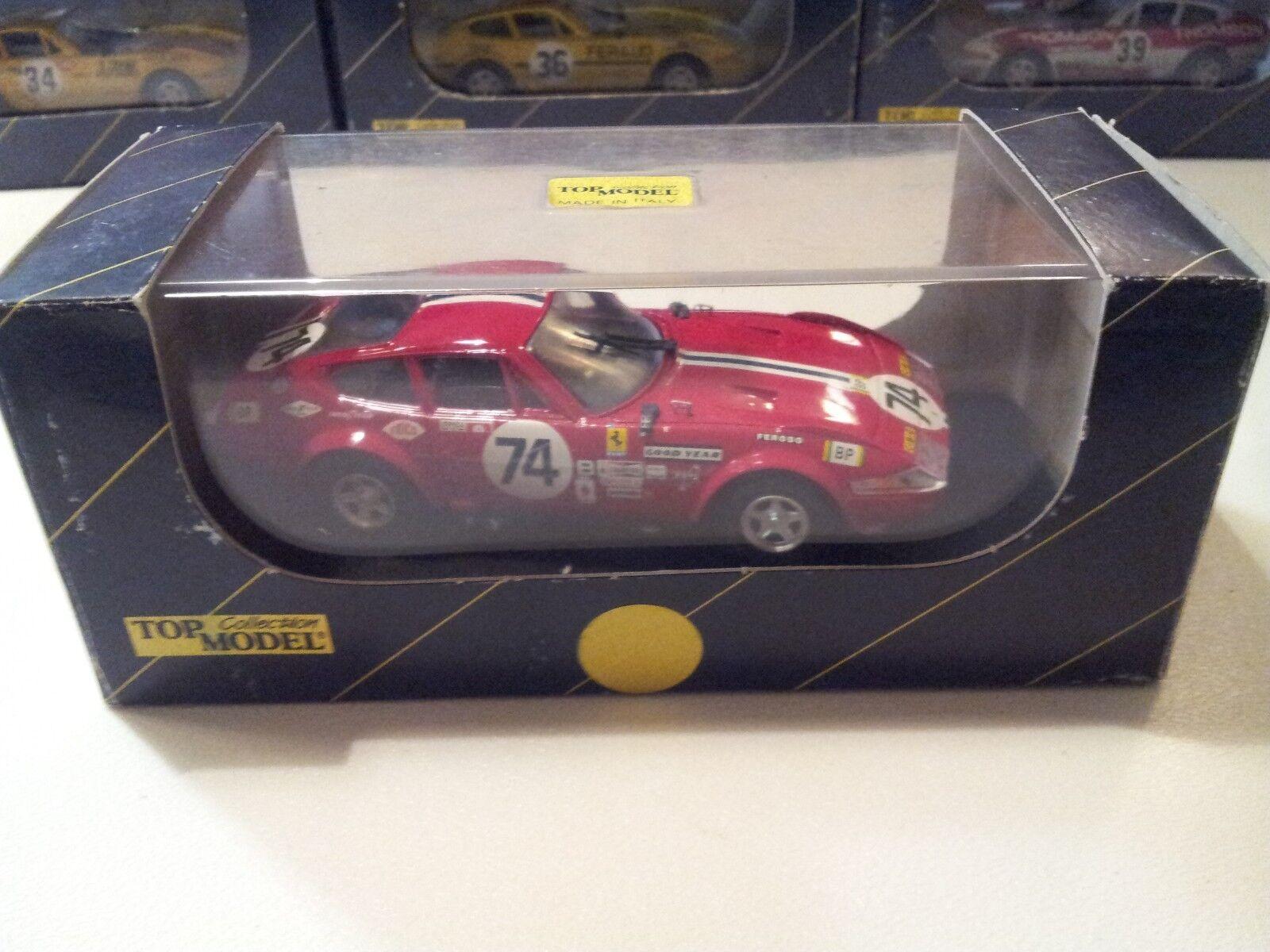 TOP MODEL Ferrari 365 GTB4 Daytona LeMans 1972 model 1 43 scale (Made in )
