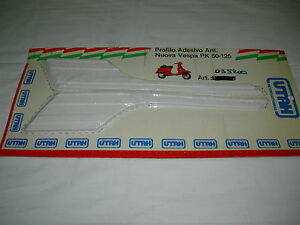 PROFILO-ADESIVO-ANTERIORE-UTAH-PER-PIAGGIO-VESPA-PK-50-125-COLORE-BIANCO