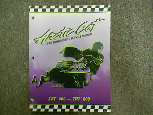 Arctic cat service manual 1997 zrt 600/800 | ebay.