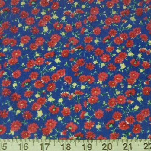 Tela De Poli Algodón Flores Floral de Verano de Noche Joy
