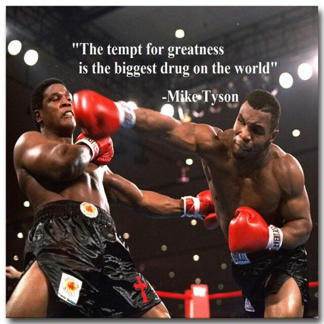 Mike Tyson Boxer Boxing Sports Art Silk Poster 12x18 24x36