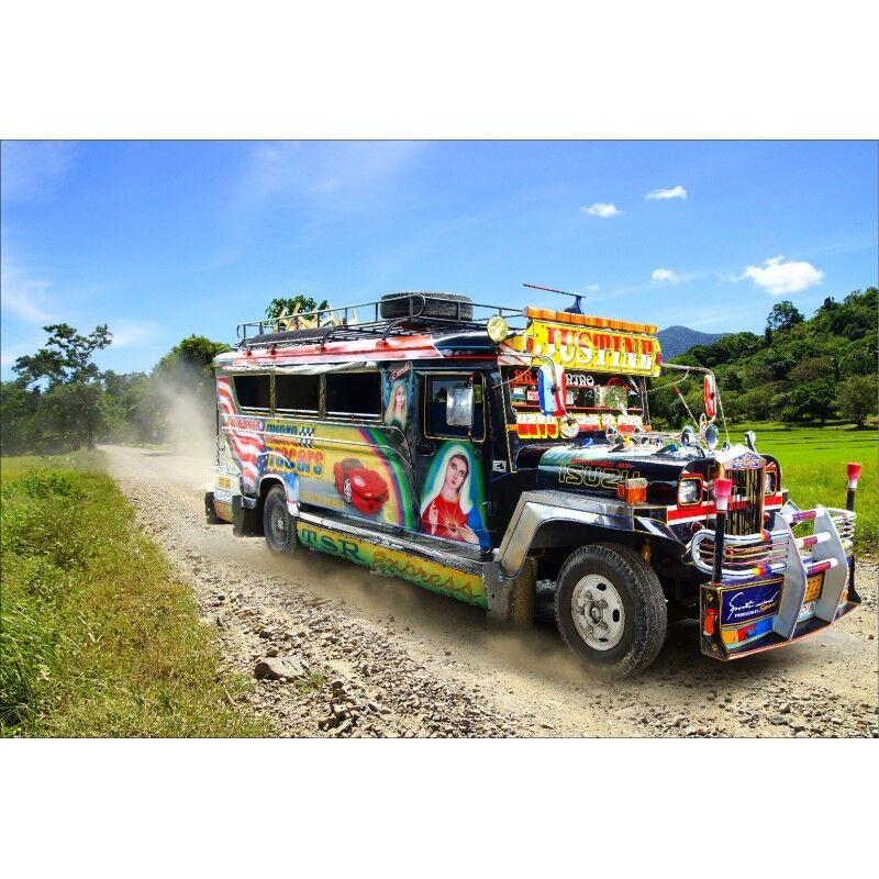 Dans l'attente de la ville, retenant votre souffle souffle souffle Papier peint géant camion 4600 | Facile à Nettoyer Surface  | Simple D'utilisation  | Online Store  | Attrayant De Mode  321098