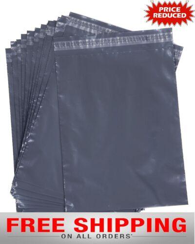 """Bolsas de correo de Plástico Gris Poly franqueo Sello del uno mismo correo Postal 12/""""x16/""""305MM x410MM"""