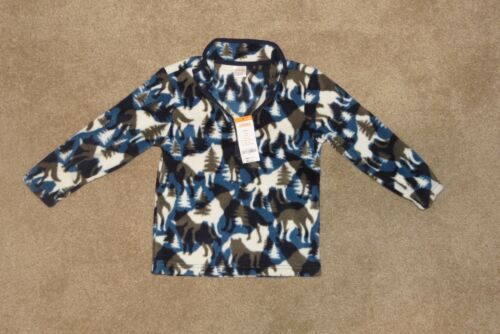 Winter Wolves 4 Gymboree Fleece Pullover Jacket Camo NWT Outerwear Boys XS