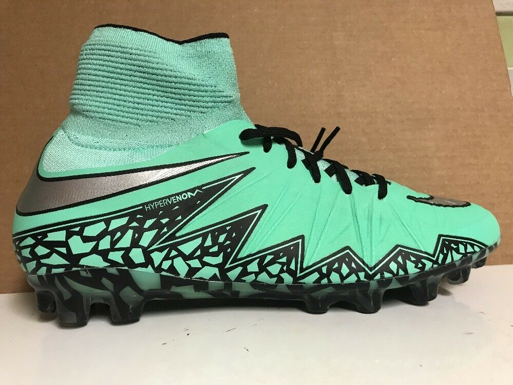 Nike hypervenom Phantom II ag-r Verde 10,5 Glow soccer cleats 747490-3SZ 10,5 Verde 280 391ccd