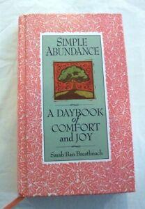 Simple Abundance, A Daybook of Comfort and Joy by Sarah Ban Breathnach